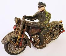 CAST IRON MOTORCYCLE