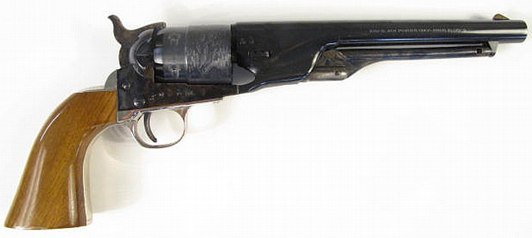 "COOPER PERCUSSION REVOLVER. Cal. 31, 4"" oct. bbl."