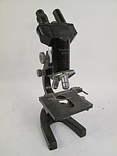 VINTAGE LEITZ MICROSCOPE. Missing parts.  16