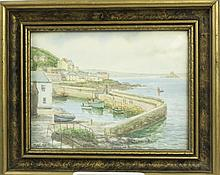 THOMAS H. VICTOR.  (English, 1894-1980).  Watercolor.  Signed lower left T.H. Victor and entitled