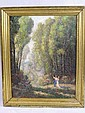 WALTER W. THOMPSON. (American, 1881-1948). Oil on, Walter Whitcomb Thompson, Click for value