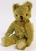 STEIFF TYPE MOHAIR BEAR. First half 20th century.