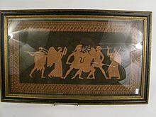EARLY CLASSICAL PRINT. Warriors and gods. 11