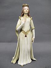 CYBIS PORCELAIN FIGURE. #571. A regal lady. 13