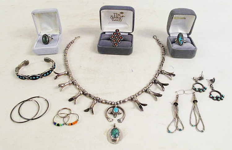 COLLECTION OF INDIAN JEWELRY. Consisting of a