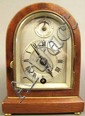 MINI WOOD BEEHIVE STYLE 8-DAY MOVEMENT CLOCK. 6