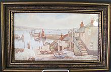 THOMAS H. VICTOR.  (English, 1894-1940).  Watercolor,