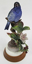 DOROTHY DOUGHTY/ROYAL WORCESTER BIRD SCULPTURE.