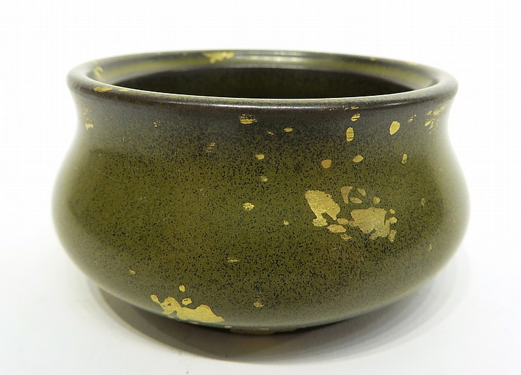 CHINESE QIAN LONG TEA DUST CENSER