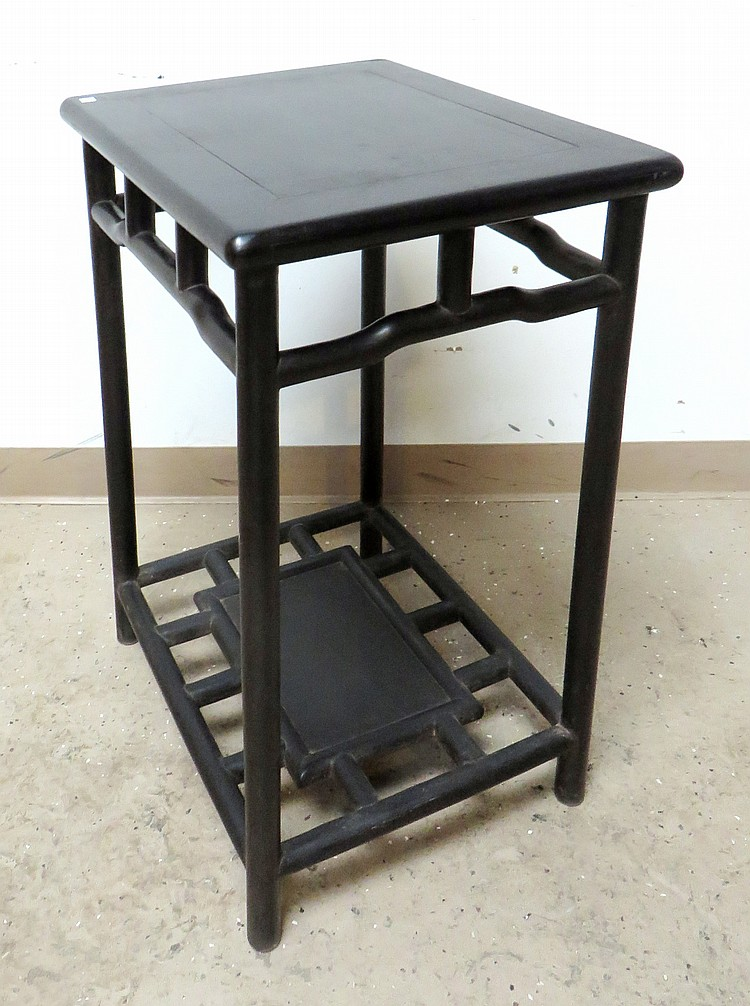 CHINESE ZITAN END TABLE