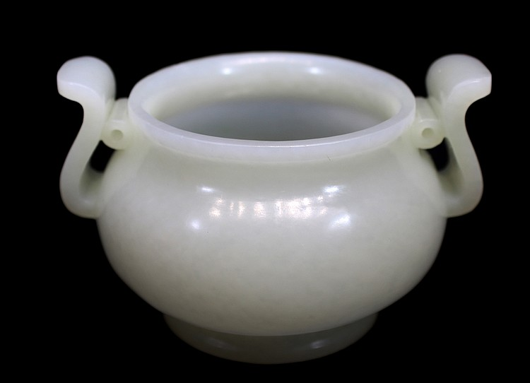 CHINESE WHITE JADE CENSER