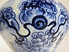 YONG ZHENG BLUE AND WHITE MEI PING VASE