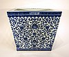 CHINESE QIAN LONG BLUE AND WHITE PLANTER