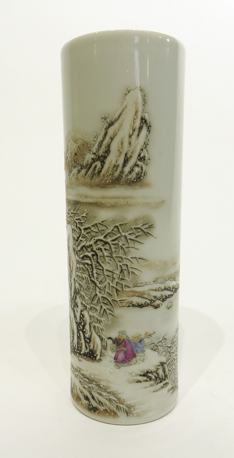 REPUBLIC ERA PORCELAIN VASE