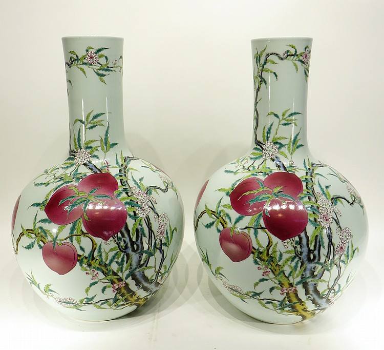 PAIR OF CHINESE QIAN LONG