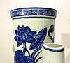 CHINESE BLUE AND WHITE YONG ZHENG VASE