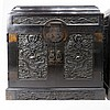 PAIR OF CHINESEZITAN CHESTS