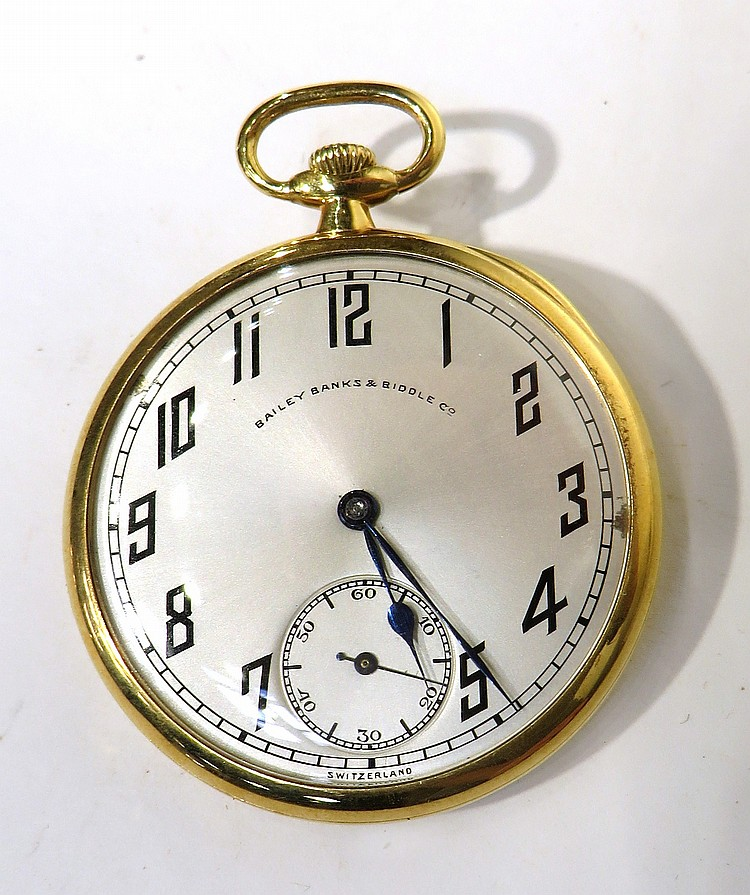MEN'S 18K DRESS POCKET WATCH BY PATEK PHILIPPE