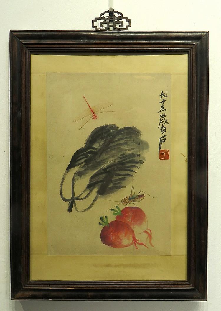 CHINESE PAINTING ATTR. QI BAISHI (1864-1957)