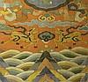 PAIR OF KESI DRAGON  FRAMED EMBROIDERIES