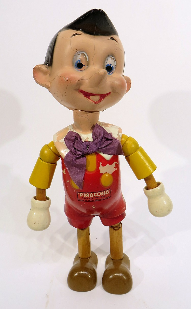 PINOCCHIO FIGURE BY IDEAL NOVELTY AND TOY COMPANY