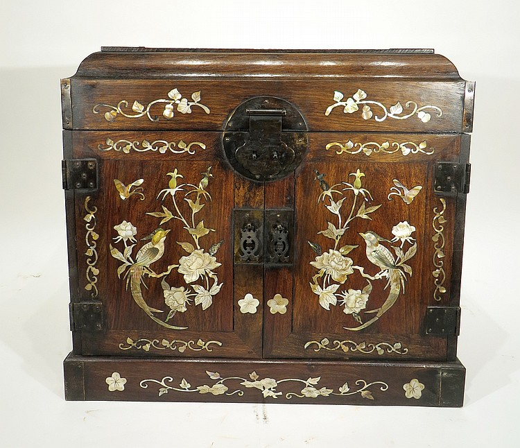 CHINESE HUANGHUALI OFFICER CHEST