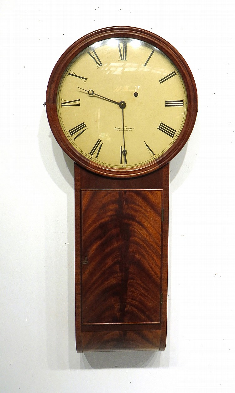 RARE TAVERN CLOCK BY FOSTER CAMPOS