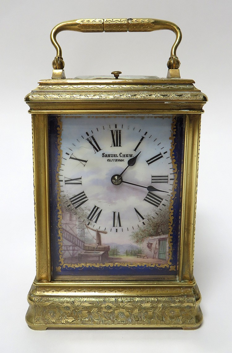 CARRIAGE CLOCK SAMUEL CHEW