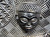 AFRICAN ANGOLA CARVED WALL PLAQUE