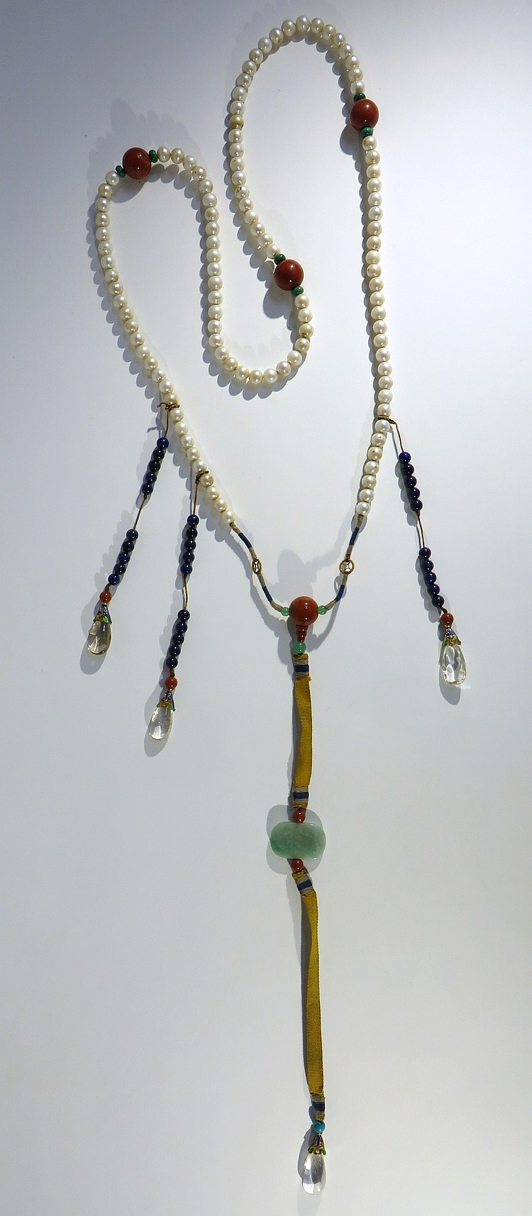 CHINESE PEARL COURT CHAO ZHU NECKLACE