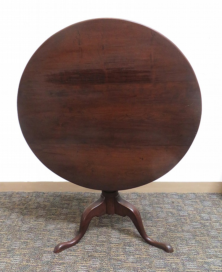 18TH OR 19TH C TILT TOP TEA TABLE
