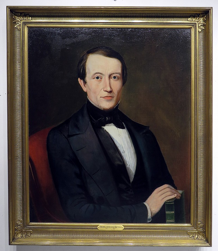 PORTRAIT OF NICHOLAS BIDDLE KITTELL