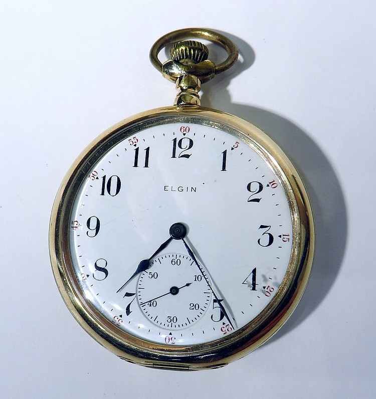 ELGIN GOLD FILLED POCKET WATCH