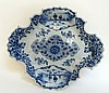 DUTCH DELFT BLUE PORCELAIN DISH