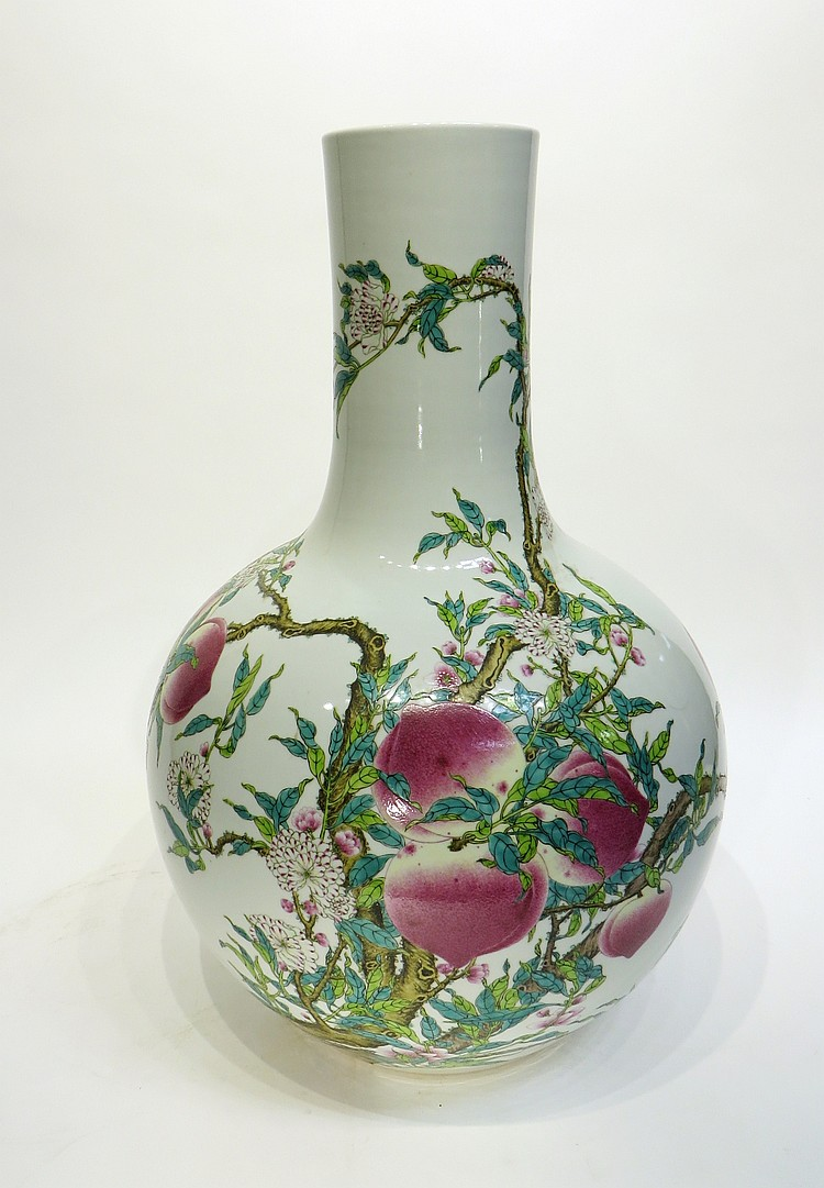 CHINESE QIAN LONG MARKED PALACE VASE