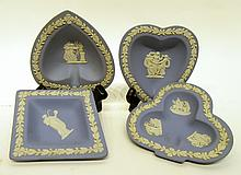 FOUR PIECE WEDGWOOD BRIDGE SET