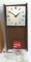 COCA-COLA PROMOTIONAL WALL CLOCK