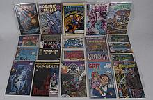 A COLLECTION OF COMIC BOOKS