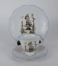 THE PIECE SET OF HUMMEL DISHWARE