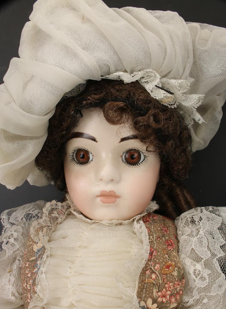 Two Porcelain Dolls