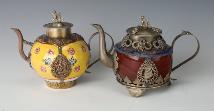 Asian brush pots