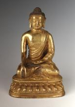 GOLD GILT CALLING THE EARTH TO WITNESS BUDDHA