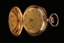 18K SWISS GOLD REPEATING POCKET WATCH