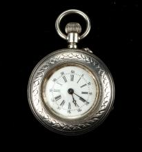 ANTIQUE HENRI SANDOZ LOCLE POCKET WATCH