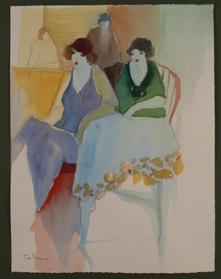 Art Deco 1920s Paintings