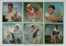 7 BASEBALL PLAYER STORY RECORDS 33 RPM
