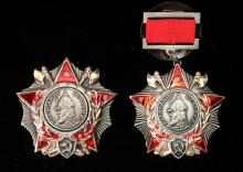 TWO SOVIET MEDALS