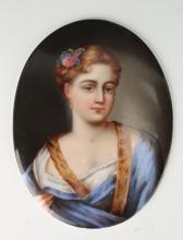 PORCELAIN PORTRAIT OF A LADY