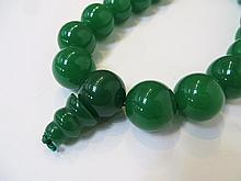 Fine Green Jade Mala