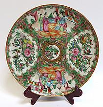 Famille Rose Plate